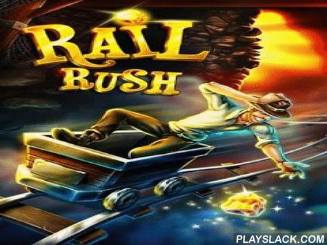 Rail Rush Android Game playslack Rail Rush is a mad steer