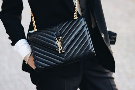 a1e33ae5a4 #saintlaurent Classic Monogram Bag by Yves Saint Laurent More at:  www.gosiaboy.com #classic #gosiaboy #laurent #monogram #saint #saintlaurent