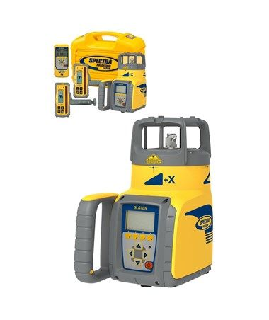 The Spectra Gl612n Is A Rugged Automatic Self Leveling Laser With A Working Range Of Up To 2 600 Feet Used In A Wide Variety O Grade Spectrum Laser