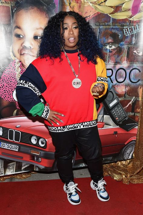 NEW YORK, NY - FEBRUARY 15:  Missy Elliott attends the Junie Bee Nail Salon grand opening on February 15, 2018 in New York City.  (Photo by Gary Gershoff/Getty Images for VH1)