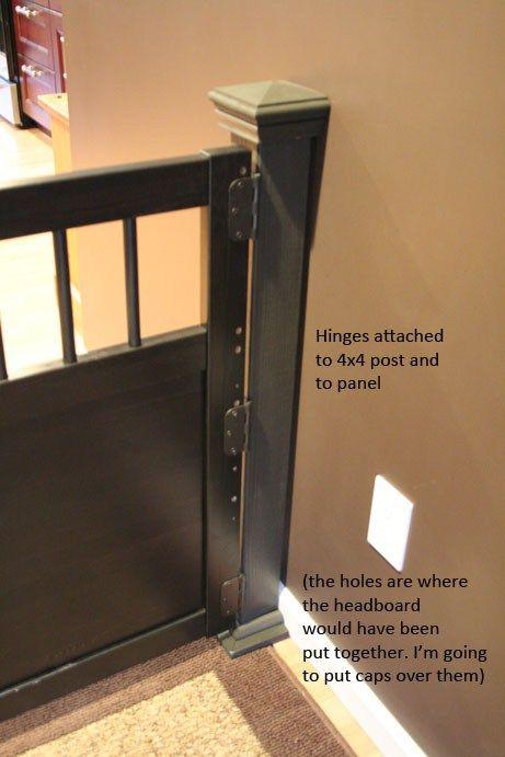 Hemnes Dog Gate Cloture Pour Chien Deco Enfant Cloture Chien