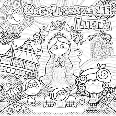 Dibujos Catolicos Virgencita Plis Distroller Para Colorear Pintar E Imprimir Virgencita Lindos Dibujos Tumblr Libros Para Colorear