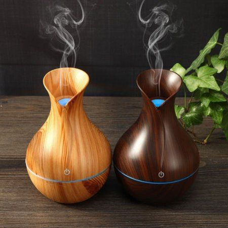 Download Wooden Humidifier And Essential Oil Diffuser Gif