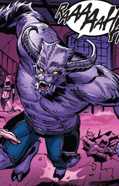 Young Beast Demon Form Henry Mccoy Earth Trn240 From X Men Blue Vol 1 2018 Beast Xmen Beast Marvel Marvel Xmen