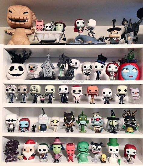 Tim Burton Style, Tim Burton Art, Jack Skellington, Disneysea Tokyo, Funko Pop Display, Funko Pop Dolls, Nightmare Before Christmas Decorations, Pop Figurine, Pop Toys