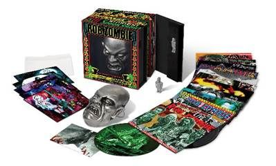 Nice Package For Collectors Rob Zombie Designed 15 Lp Box Set Limited To 1 000 Numbered Copies Worldwide Robzombie Rob Zombie Boxset Vinyl