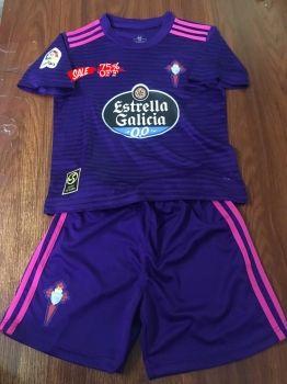 factory authentic 637fd 16d26 2018-19 Cheap Youth Kit Celta Vigo Away Replica Soccer Kids ...