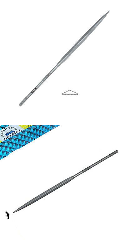 "Grobet   5-1//2/"" Barrette Needle File 00-Cut New Swiss Made"