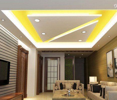 15 Surprising L Shape False Ceiling Design Ideas In 2020 Simple