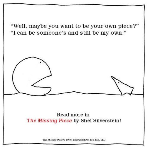 Missing piece | Shel silverstein, Giving tree quotes ...