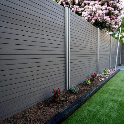 Composite Fencing Panels In 2020 Garden Fence Panels Composite