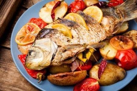 تتبيلة السمك المشوى لجميع الأنواع Food Pork Breakfast
