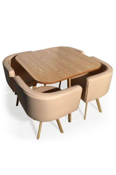 Coloris  Noir et BLANC La table de salle à manger MOSAIC XL est un