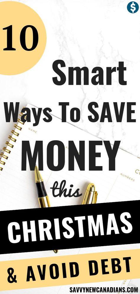 10 Ways To Save Money This Christmas