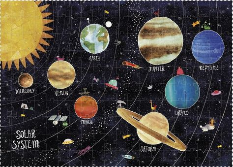 Discover the Planets Puzzle - 200 pieces