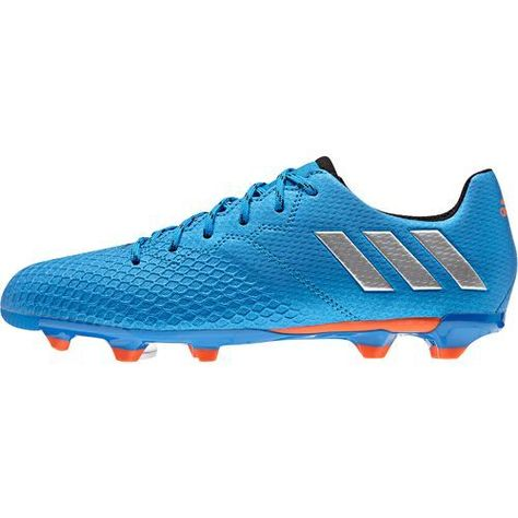 64603f1dd Adidas Kids  Messi 16.3 FG J Soccer Cleats (Shock Blue Matte Silver Black