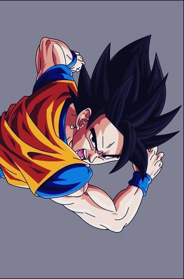 Goku And Gohan Fusion In Dragon Ball Z Goku And Gohan Goku And Gohan Fusion Anime Dragon Ball