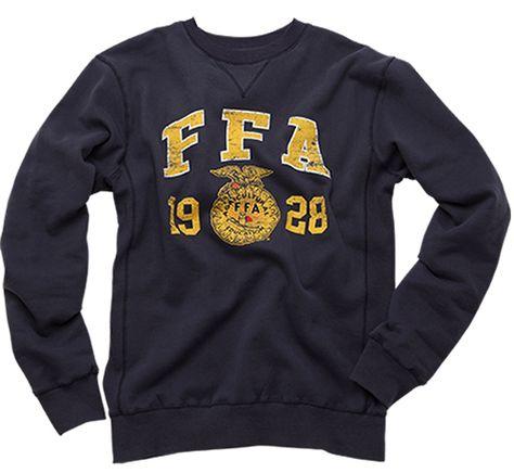 Bundle up with this vintage FFA crewneck. http://shop.ffa.org/vintage-wash-logo-crew-p42224.aspx