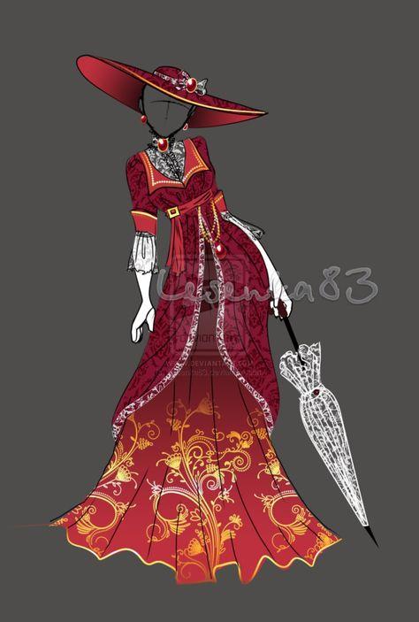 Dress Alexandra Fedorovna (OPEN) by on DeviantArt