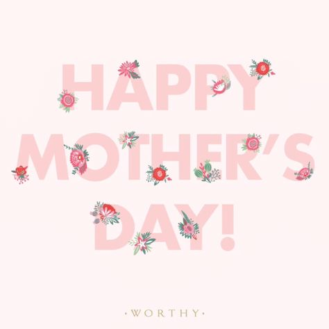 """""""All that a woman must possess to act as a mother or mother figure is the desire, love, and dedication to fill the role!"""" We celebrate the perseverance, hustle, and kickass qualities of single moms, and all moms, every day. But today we wanted to take an extra moment to send you warmest wishes for a happy day with your loved ones. Happy Mother's Day!"""