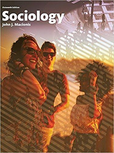 Sociology 16th Edition By John J Macionis PDF Version
