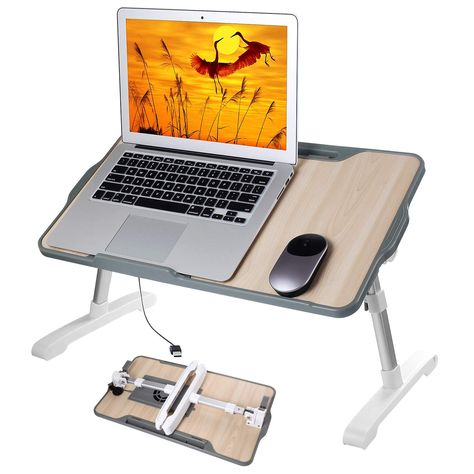 Table Reglable En Hauteur Et En Angle Table Reglable Pour Ordinateur Portable Table Notebook Livres Table Reglable Hauteur Table Reglable Ordinateur Portable