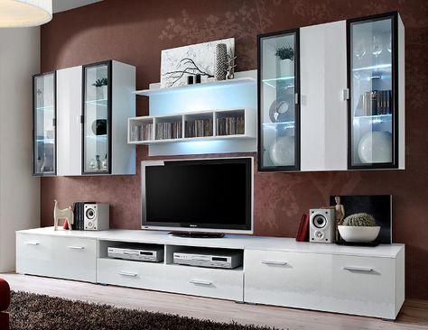 Toskan 6 Modern wall units, Living room wall units and Modern wall