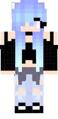 Wolf Girl Minecraft Skin Derp