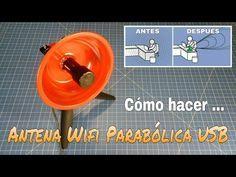 Como Hacer Una Antena Wifi 2 4 Ghz Parabolica Con Conexion Usb