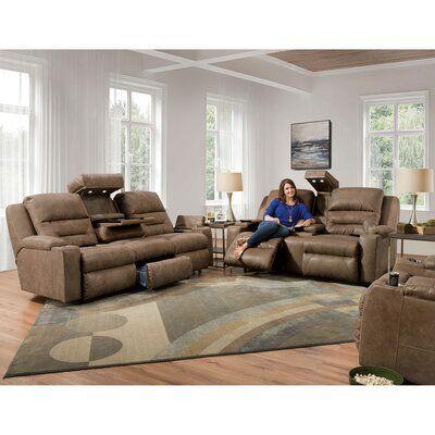 Latitude Run Humble Brag Reclining 77 Pillow Top Arm Loveseat Fabric Mink In 2021 Rocker Recliners Living Room Sets Love Seat