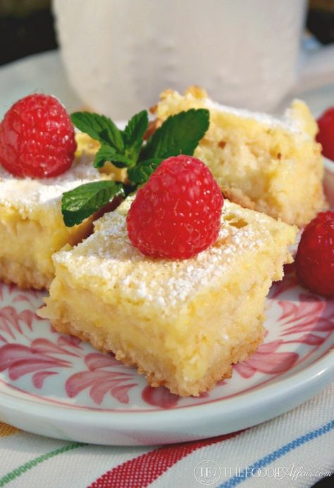 Lemon Bars Low Carb Gluten Free