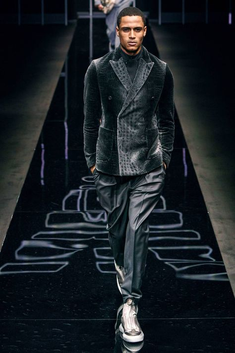 Emporio Armani Autumn/Winter 2019 Menswear Collection
