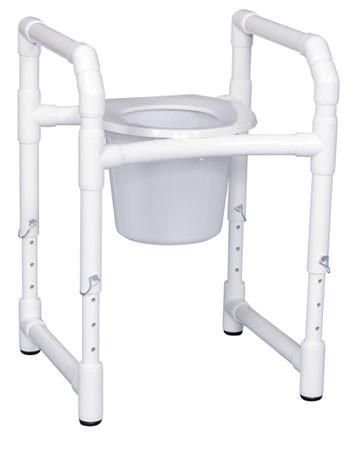 Toilet Safety Frame With Commode Pail Buy Toilet Toilet Bathroom Safety