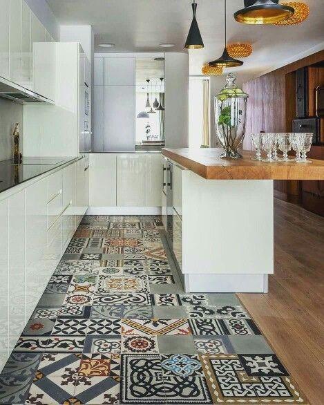 42 Beautiful Kitchen Floor Tile Ideas Kitchen Floor Tile