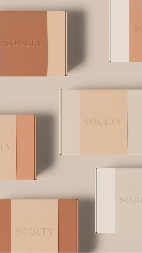 Soulty brand identity and packaging design by Elisabeth Kiviorg