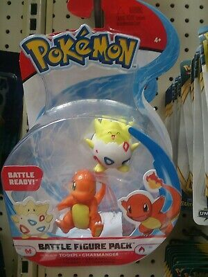 Pokemon Battle Figure Set Togepi and Charmander