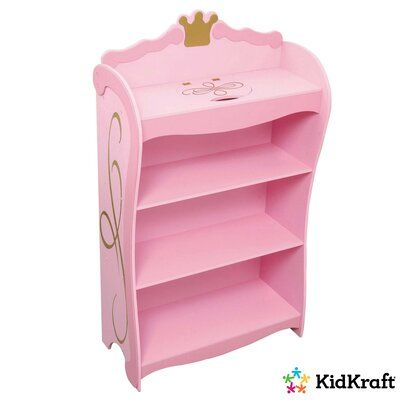 Kidkraft Princess 42 5 Bookcase Princess Bookcase Kids Room Furniture Kids Bookcase