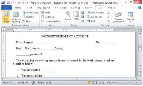 Student Report Maker Template For Word  Word Templates