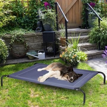 Large Breathable Indoor Outdoor Pet Bed In 2020 Outdoor Pet Bed Outdoor Pet Bed