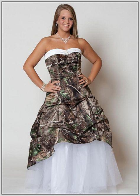 12 Camo Wedding Dresses Ideas