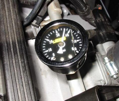Permanent Fuel Rail Pressure Gauge Jeep Cherokee Forum