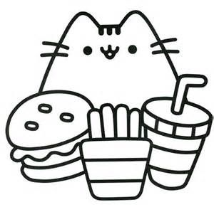 Image Result For Pusheen Coloring Page Pusheen Coloring Pages