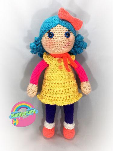 Weebee Standard Size Baby Doll in 2020 | Baby girl crochet, Baby doll  pattern, Crochet baby | 500x375