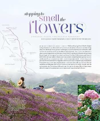 STOPPING TO SMELL THE FLOWERS | Martha Stewart Living May-11