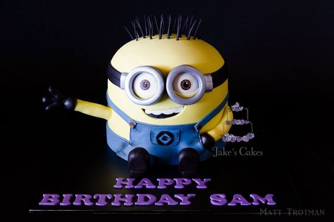 Minion Birthday Cake by Jake's Cakes, Australia.  You'l find this Cake Appreciation Society Member in our Directory at wwwcakeappreciationsociety.com