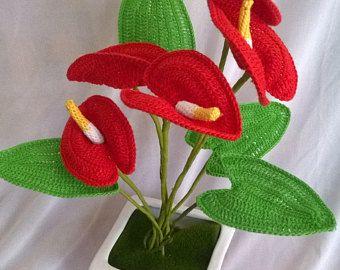 Crochet Flower Pattern Gerbera Easy Beginner Photo Tutorial Crochet Pattern Instant Download Crochet Flower Pattern Crochet Flower Patterns Crochet Flowers Crochet Puff Flower