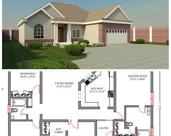 2 Bedroom House Plan 968 Sq Feet Or 90 M2 2 Small Home Design Small Home Design 2 Bedroom Granny Flat Concept House Plans For Sale In 2020 Barn Style House Plans House Plans Duplex House Plans