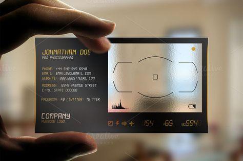 Transparent Plastic Business Card Plastic Business Cards Business Cards Creative Templates Business Cards Creative