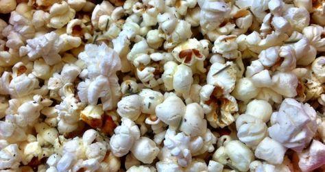 Palomitas de maíz a las finas hierbas - Sabrosía
