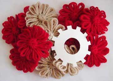 Flower Looms: Make Your Own Flower Loom